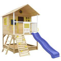 Warrigal Cubby House (Blue Slide)