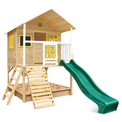 Warrigal Cubby House (Green Slide)