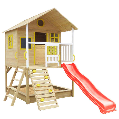Warrigal Cubby House (Red Slide)