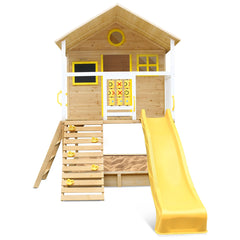 Warrigal Cubby House (Yellow Slide)