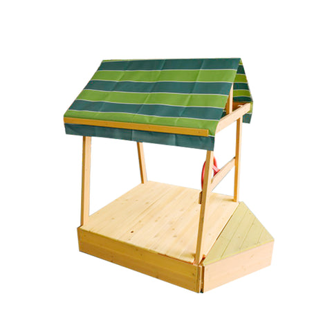 Explorer Sandpit with Wooden Cover