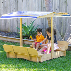 Skipper Sandpit with Canopy