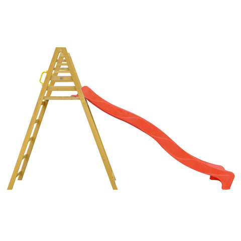 Jumbo 3m Climb & Slide In Red