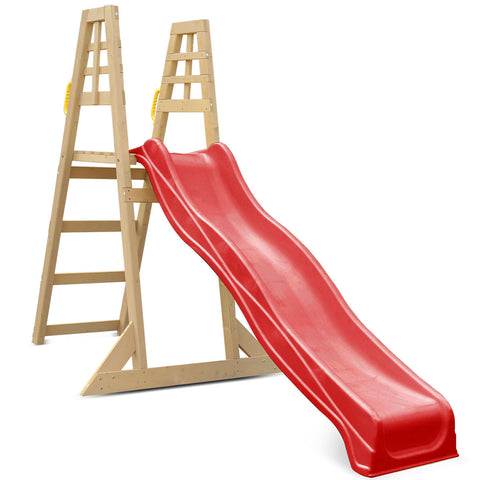 Sunshine 2.2m Climb & Slide in Red