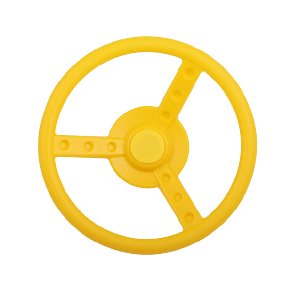 Yellow Steering Wheel