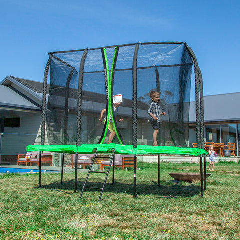 7ft x 10ft Hyperjump Rectangle Spring Trampoline