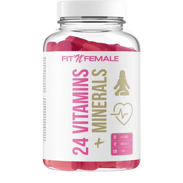 Fit'n'Female 24 VITAMINS & MINERALS