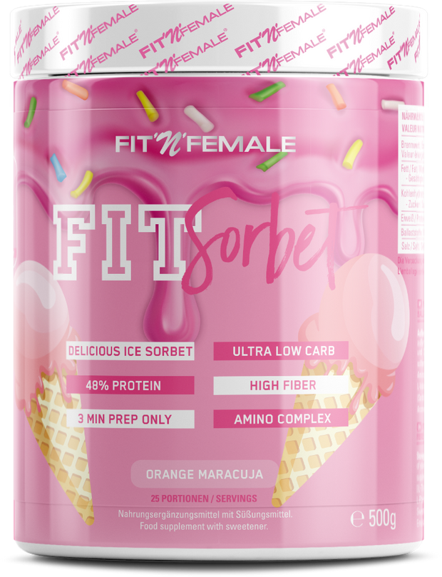 Fit'n'Female FIT SORBET Orange Maracuja