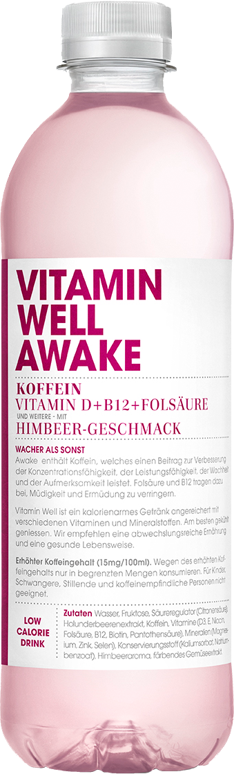 Vitamin Well Awake 12x 500ml