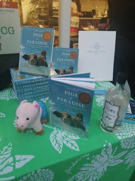 Pigs of Paradise UK Book Launch