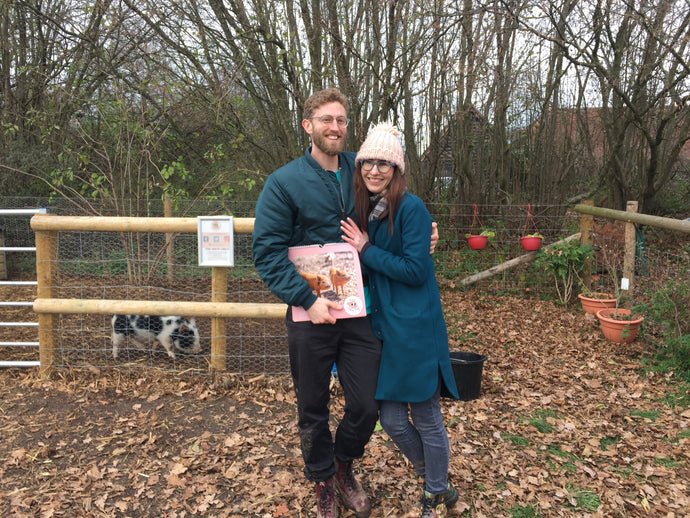 Another PIG surprise - The engagement of Anna and Thomas
