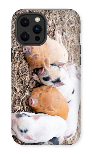 Sleeping Piglets Premium Phone Case
