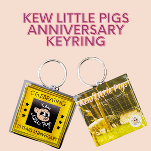 Kew Little Pigs 10 Year Anniversary