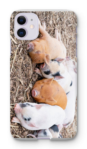 Sleeping Piglets Phone Case