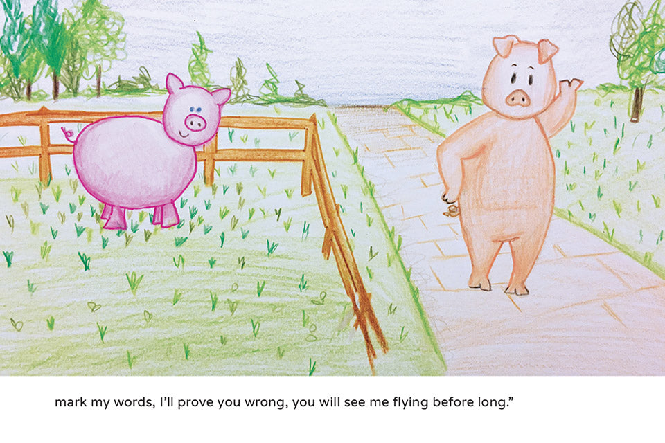 Kew Little Pig Can Fly Book