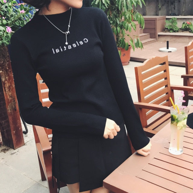 Cheap wholesale 2018 new spring autumn winter Hot selling women's fashion casual warm nice Sweater female ladies basic sweater