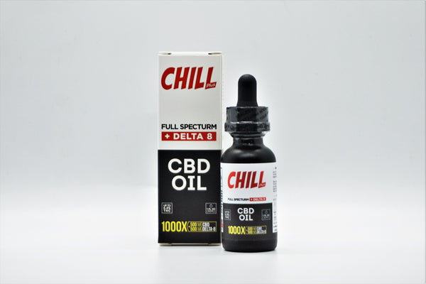 Chill Delta-8 CBD Oil 500mg CBD