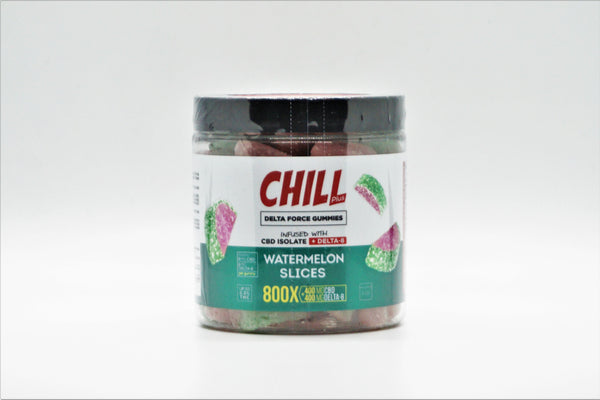 Chill Delta-8 Watermelon Slices 400mg CBD