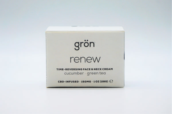 Renew Face and Neck Cream (150mg CBD)