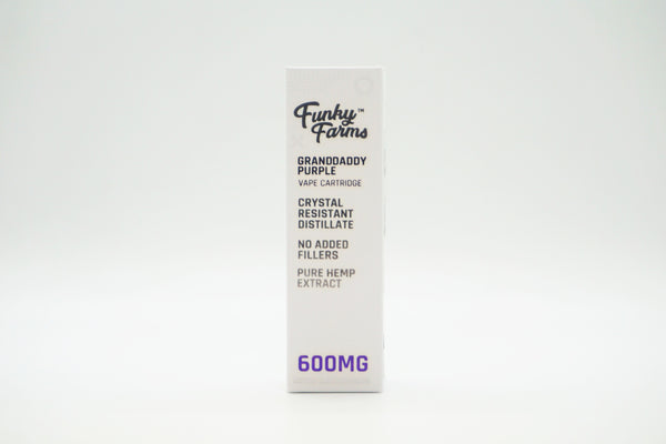 Funky Farms 600mg CRD Cartridges
