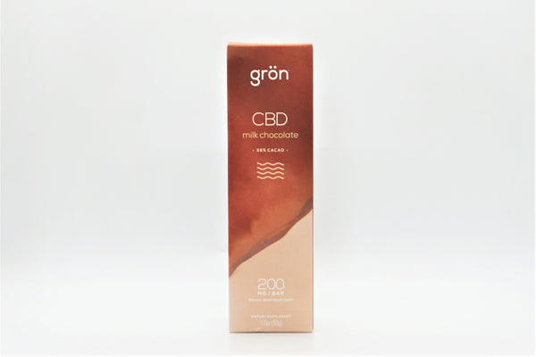 Grön 200mg CBD Milk Chocolate Bar