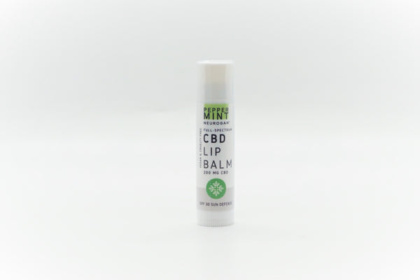 Neurogan CBD Peppermint Lip Balm