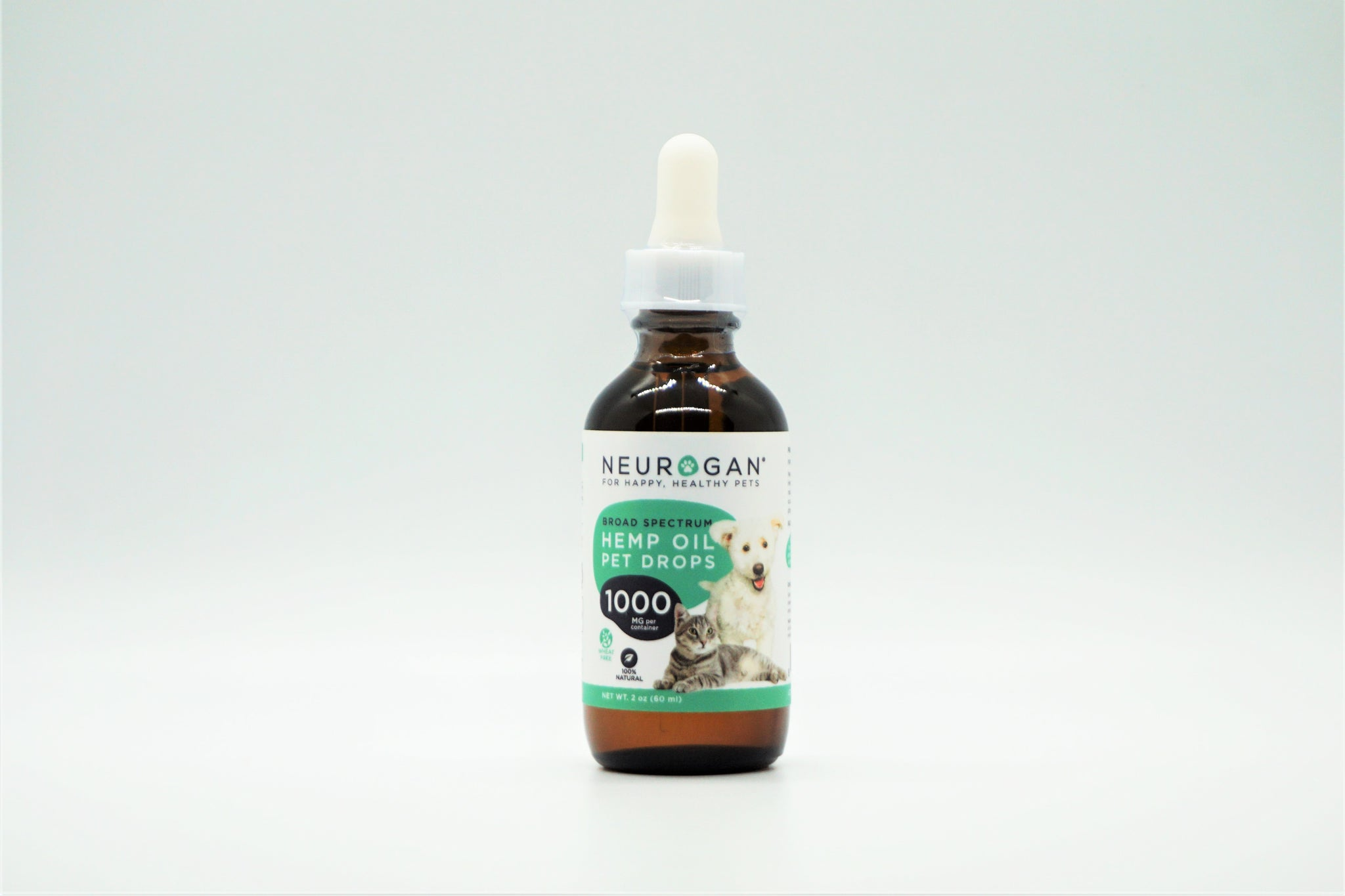 Neurogan Broad-Spectrum 1000mg CBD Pet Oil