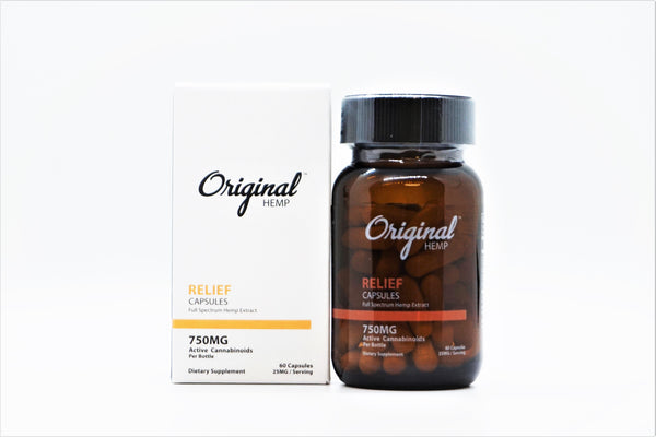 CBD Relief Capsules 750mg