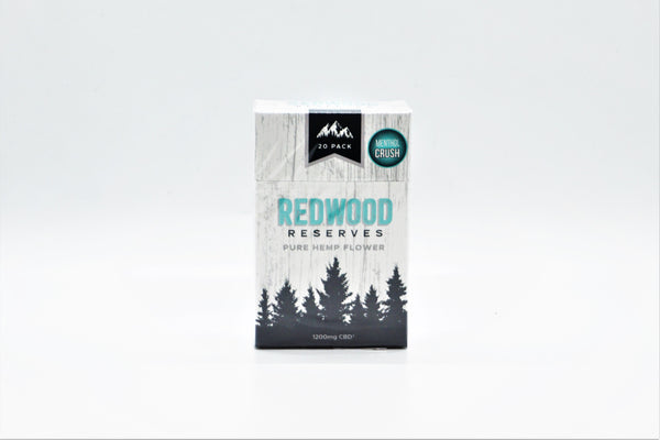 Redwood Reserves Menthol CBD Hemp Smokes