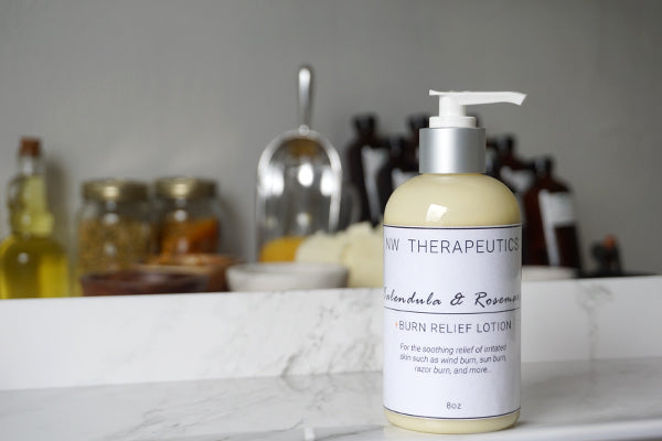 Calendula & Rosemary Burn Relief Lotion
