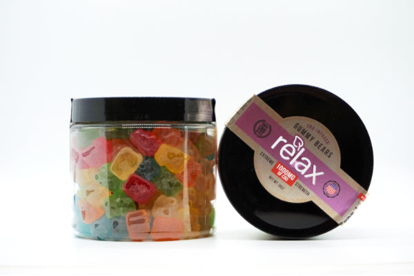 Relax Gummy Bears 1000mg