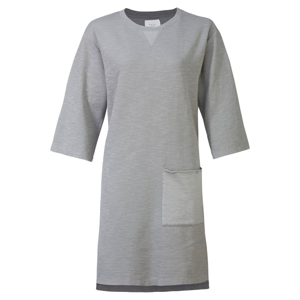 Raw Edge Sweater Dress