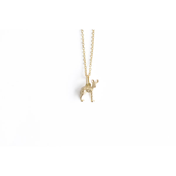 Gilt Wild Dog Pendant