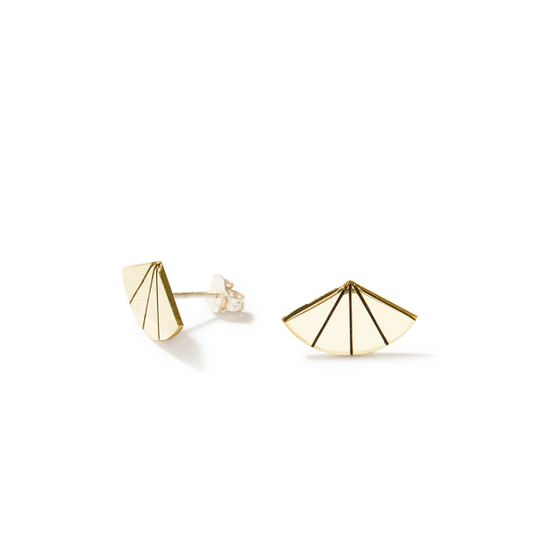 Art Deco Fan Studs