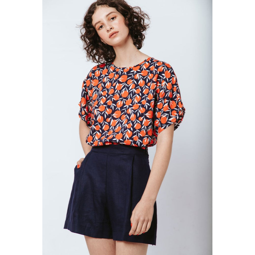 Boxy Bloom Top