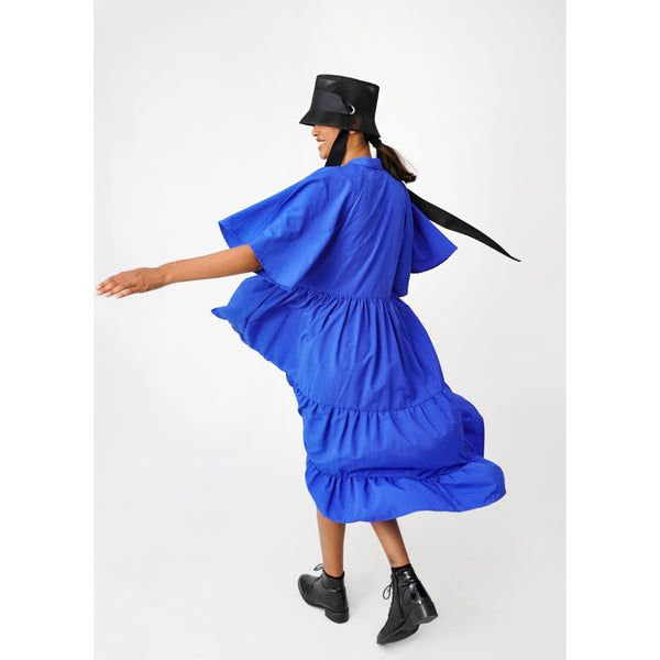 Parachute Dress Medium | Blue