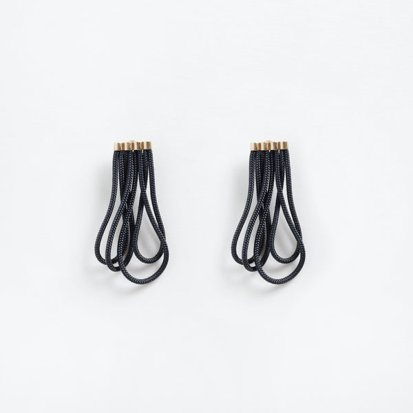 El Duende Earrings Black