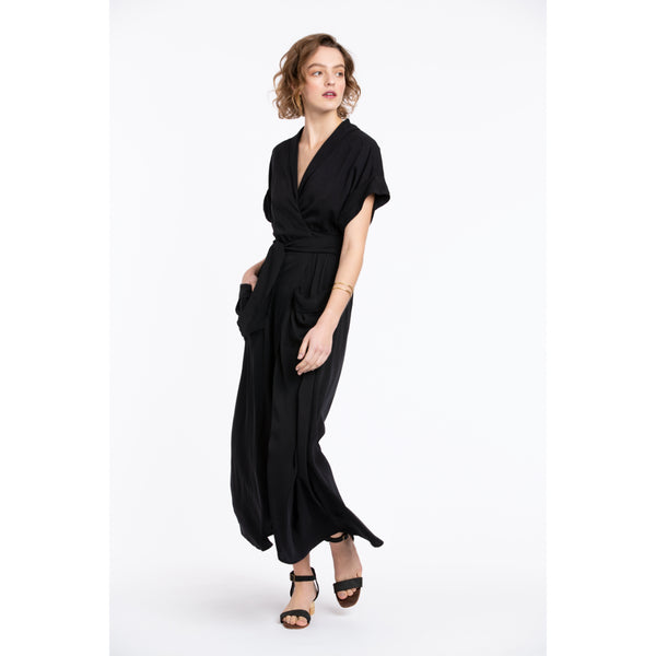 Eros Maxi Wrap Dress