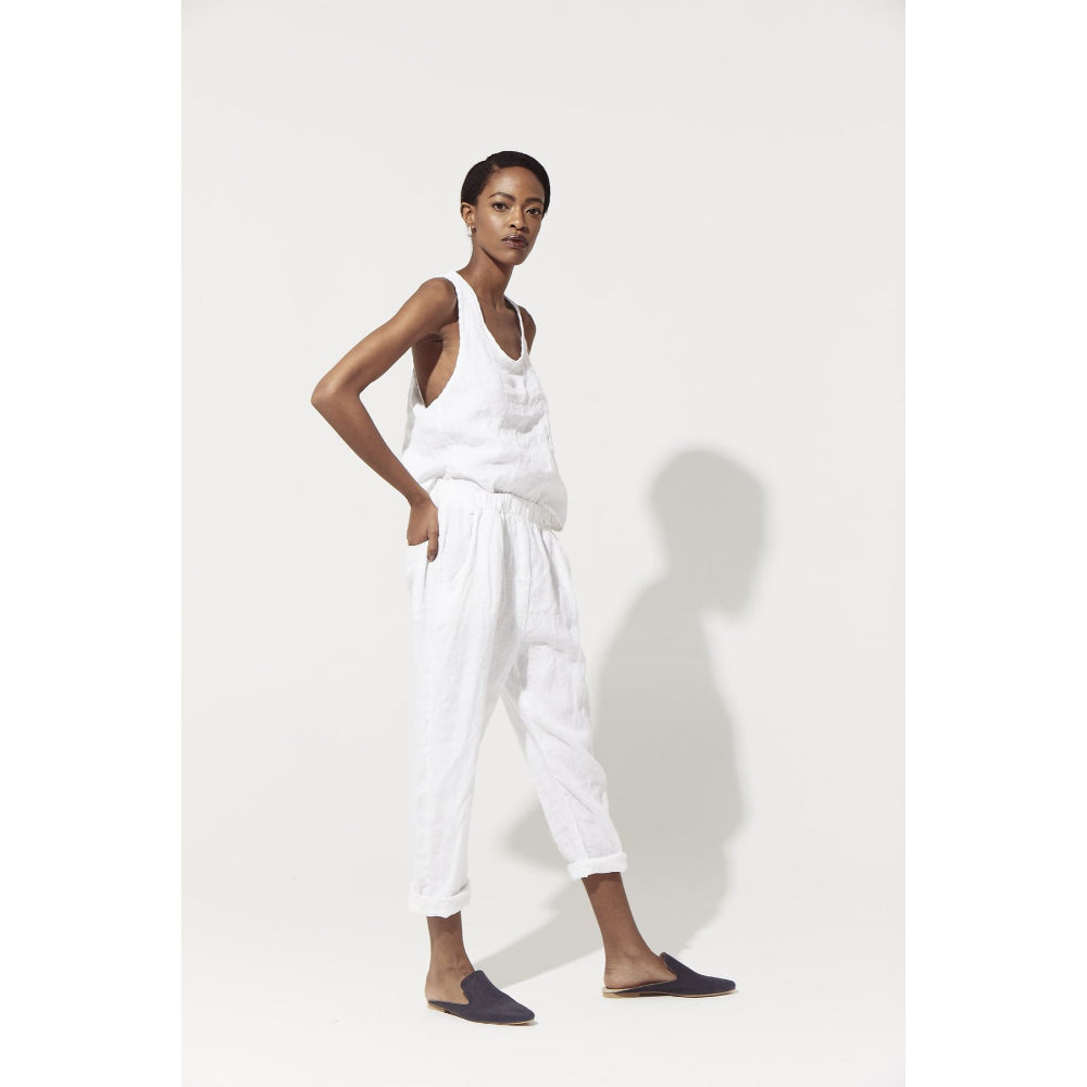 Slouchy Linen Pants