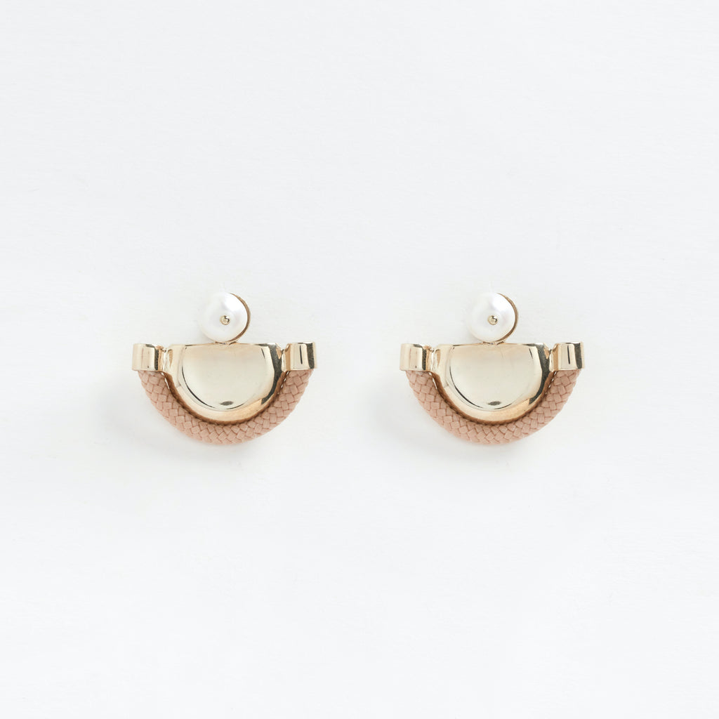 Ishtar Earrings Beige