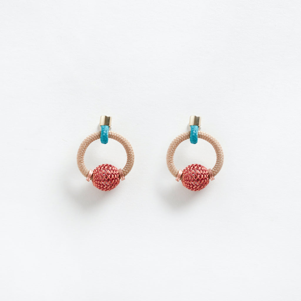 La Bamba Earrings Beige