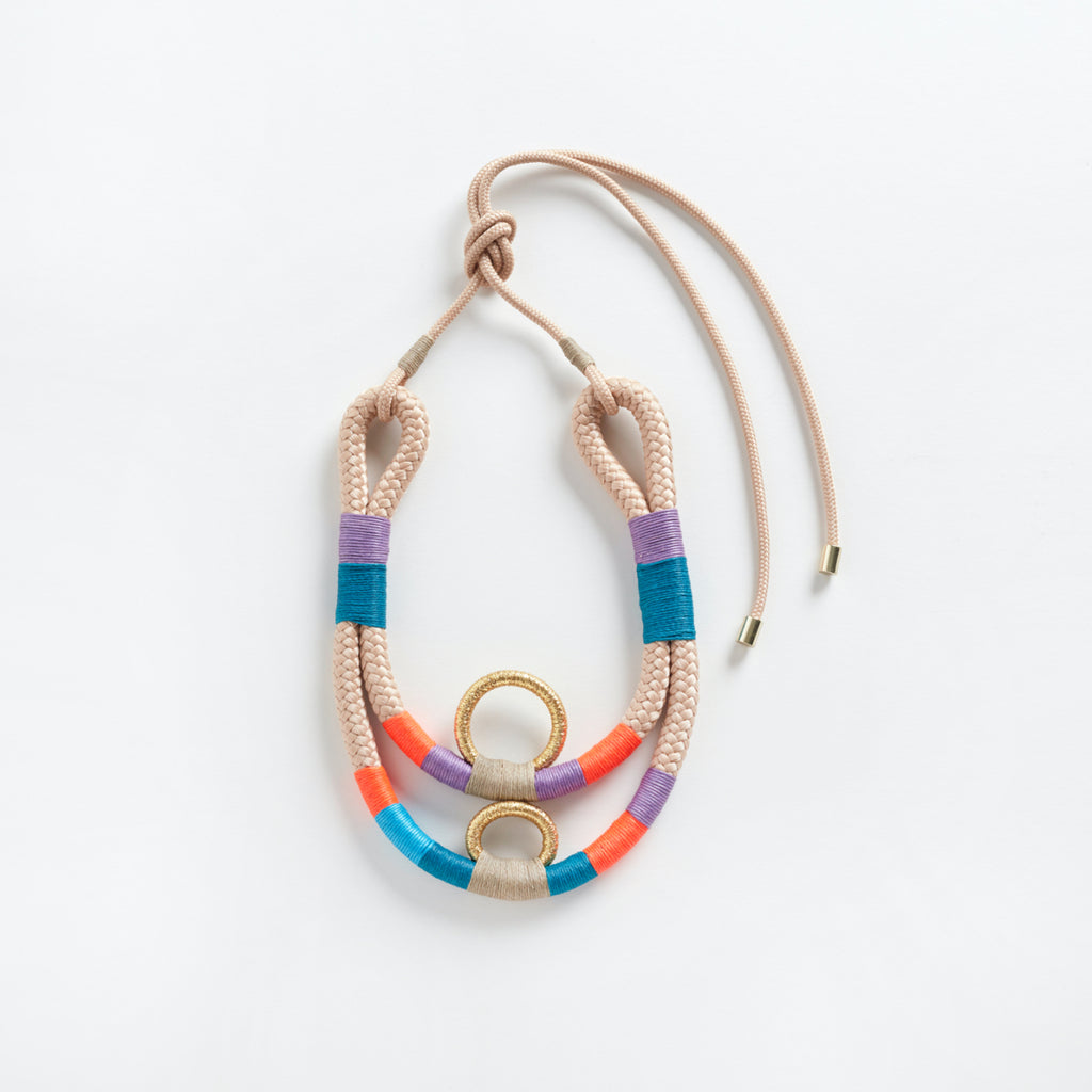 Mundaca Necklace Beige
