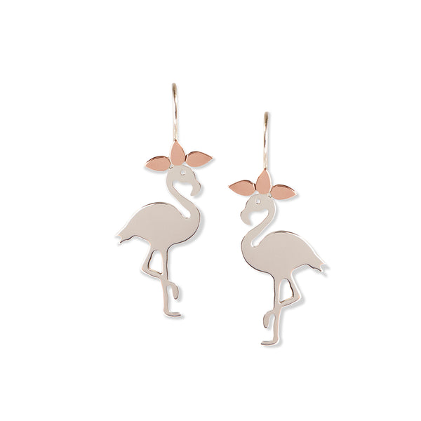Pretty Flamingo Earrings