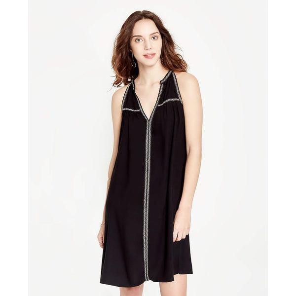 Manica Split Neck Dress
