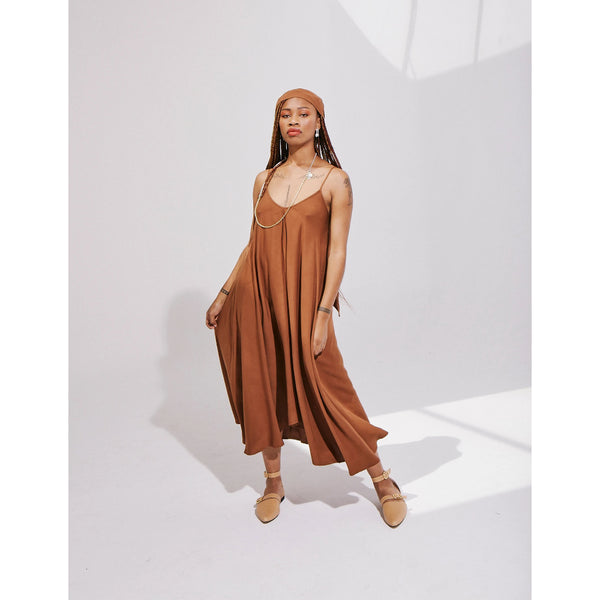 Swing Dress | Copper