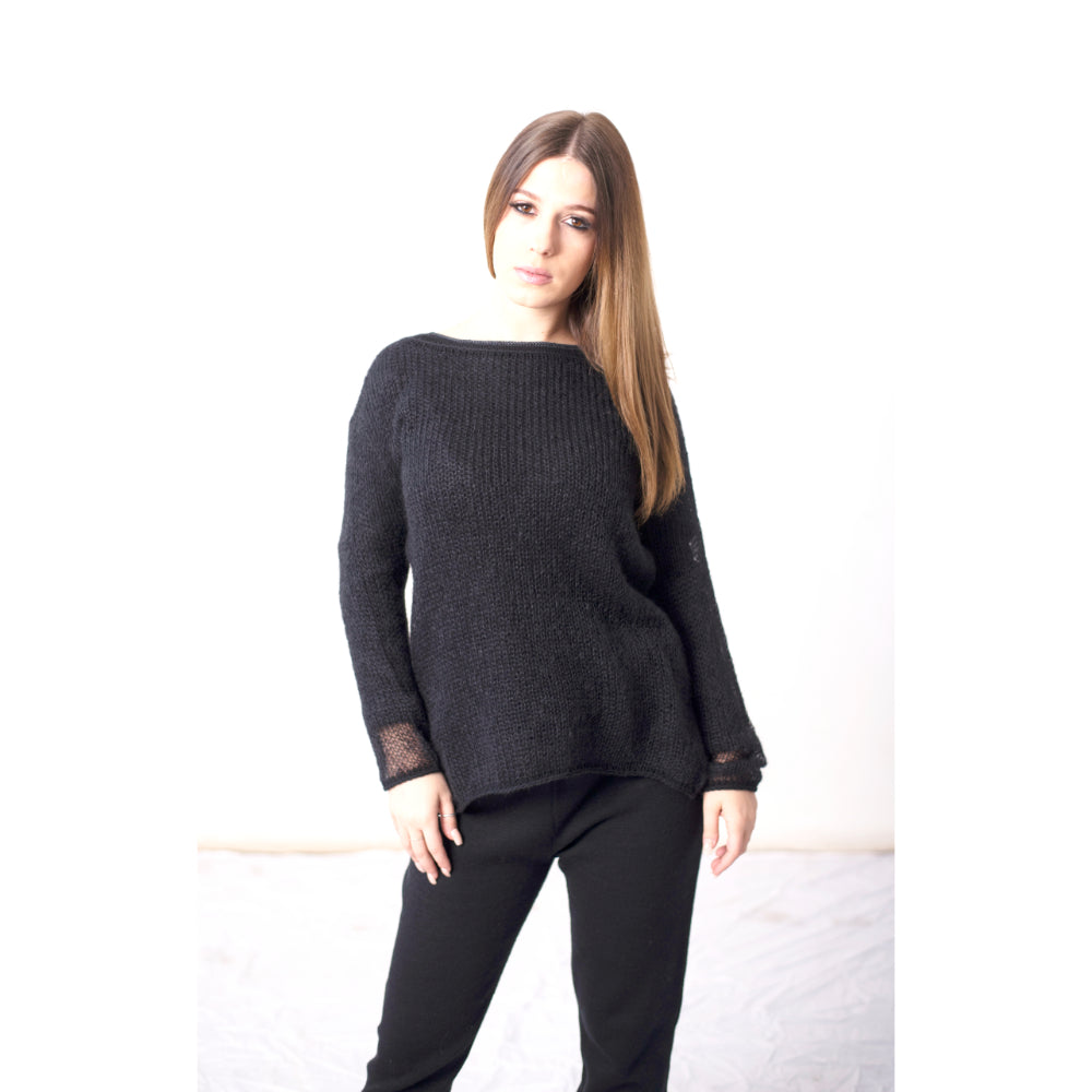 Oversized Mohair Top