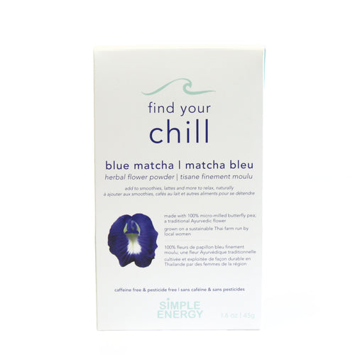 Find Your Chill - Butterfly Pea Flower Powder - Two Hills Tea