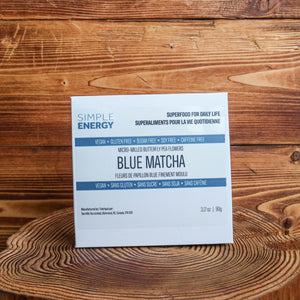 SIMPLE ENERGY | Blue Matcha - micro-milled butterfly pea flower powder