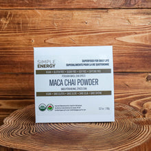 Load image into Gallery viewer, SIMPLE ENERGY | Maca Chai (Organic)