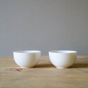 PORCELAIN CUPS (set of 2)